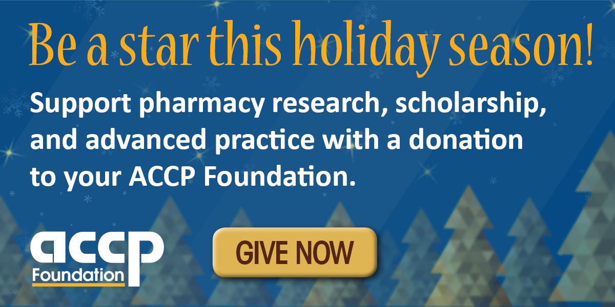 ACCP Foundation Year-End Fundraiser
