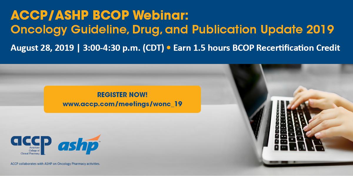 Upcoming BCOP Webinar