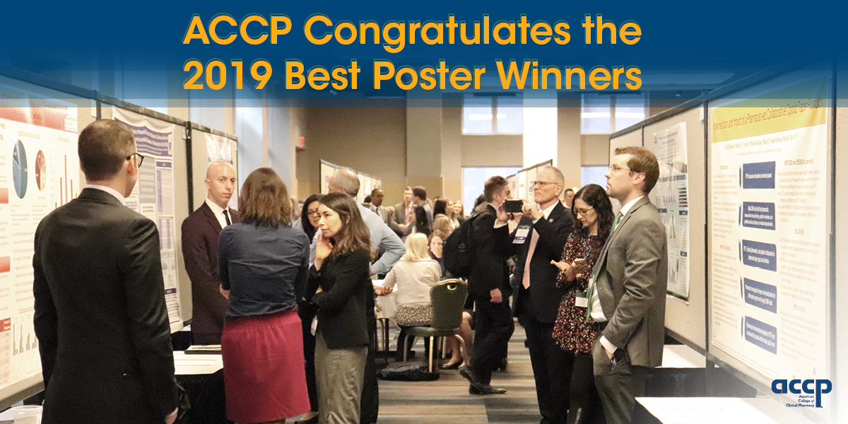 Schultz, Atyia, and Gamble Receive Best Poster Honors
