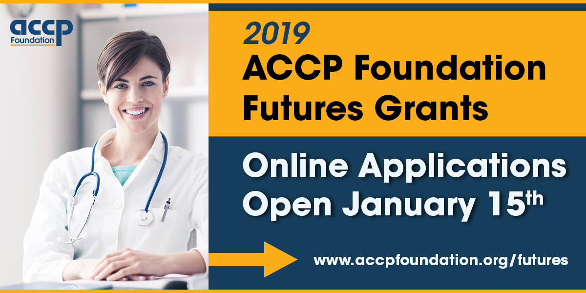 ACCP Foundation Announces 2019 Futures Grants