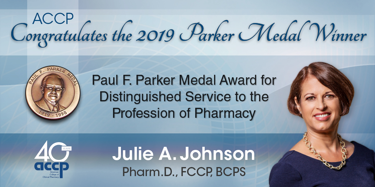 Johnson Named 2019 Parker Medalist