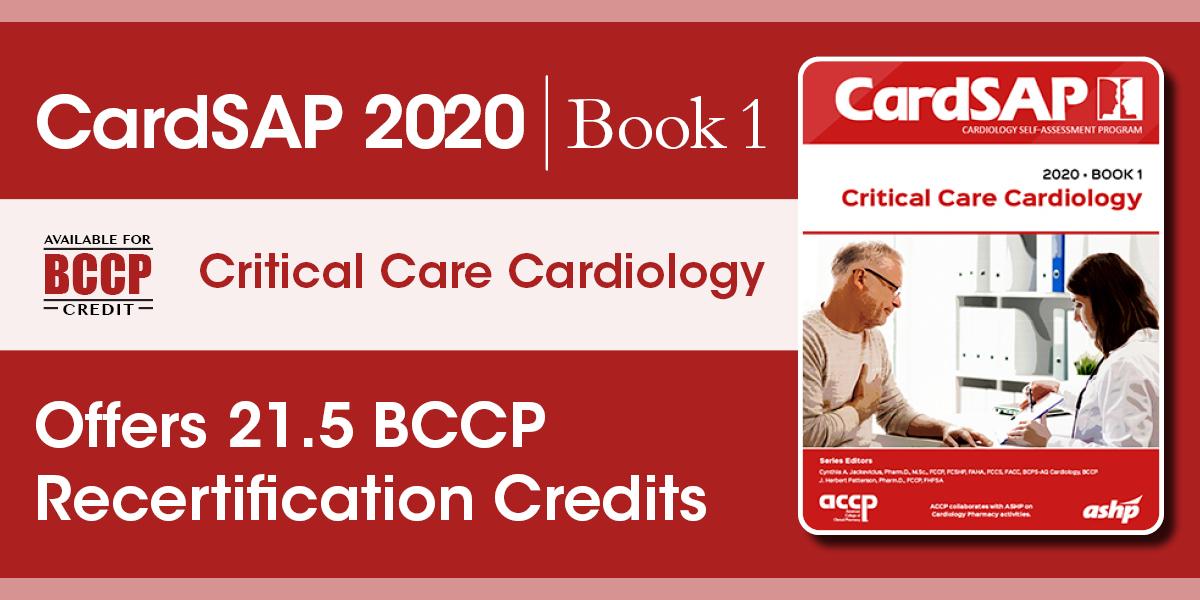CardSAP 2020 Book 1: Critical Care Cardiology