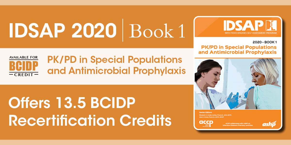 IDSAP 2020 Book 1: PK/PD in Special Populations an...