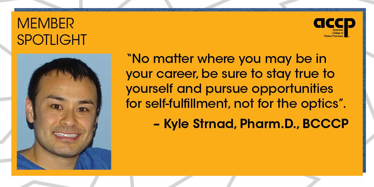 ACCP Member Spotlight: Kyle Strnad