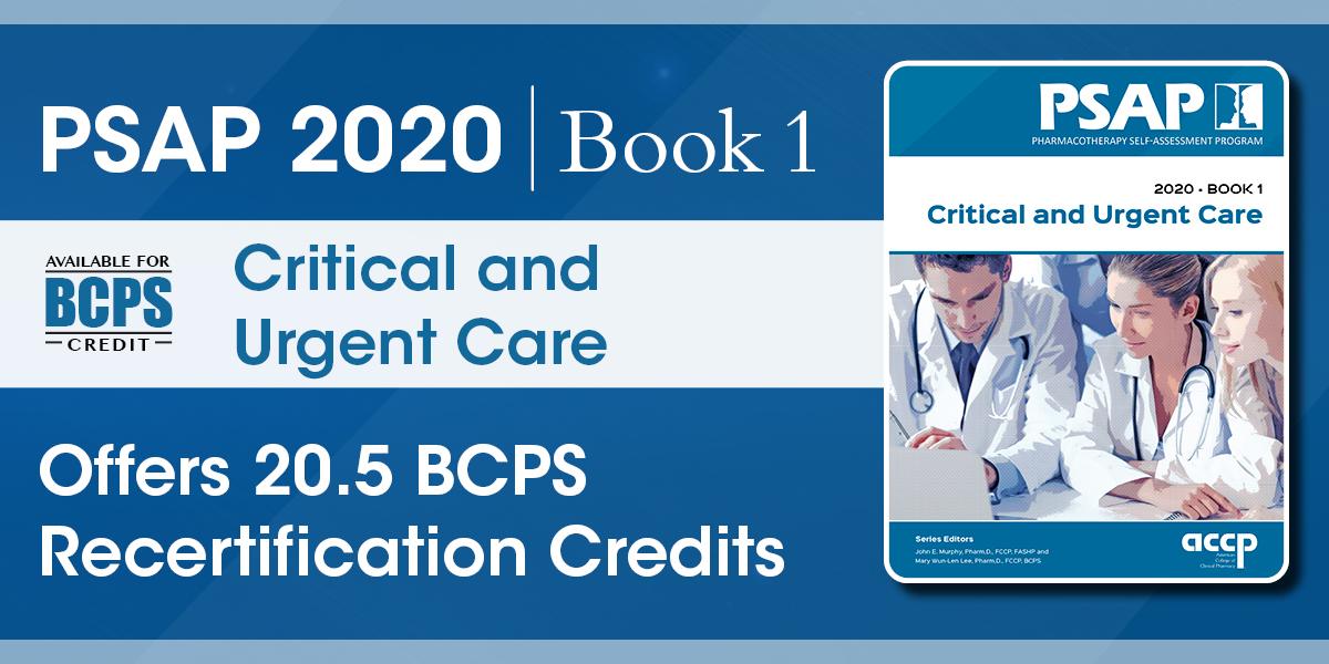 PSAP 2020 Book 1: Critical and Urgent Care