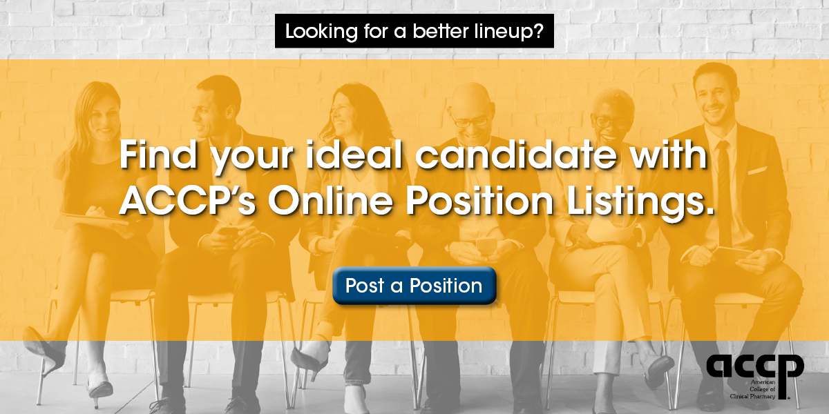 Find your ideal candidate with ACCP's Online Position Listings