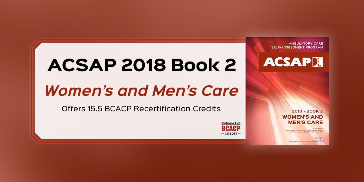 ACSAP 2018 Book 2 Women's and Men's Care Offers 15...