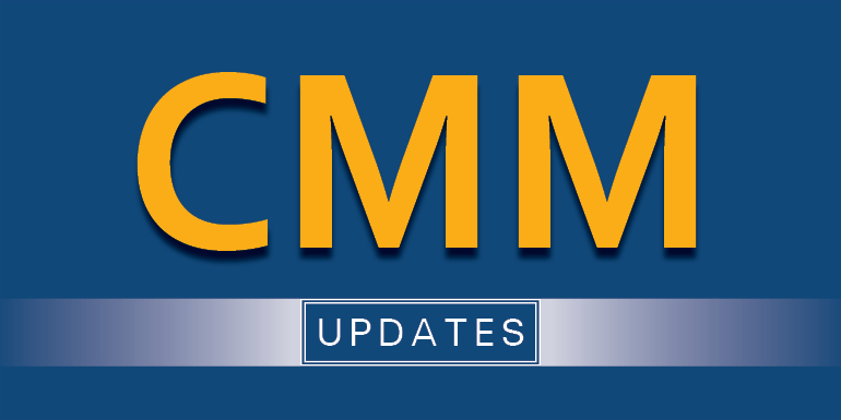 Highlights from the CMM Effectiveness and Implementation Grant: A Report from the CMM Study Team