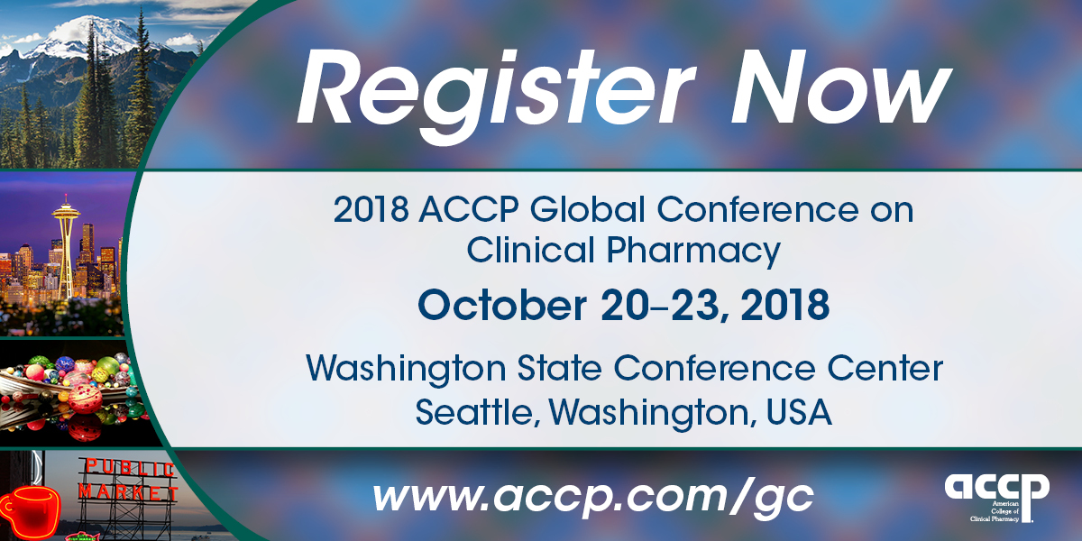 2018 ACCP Global Conference on Clinical Pharmacy