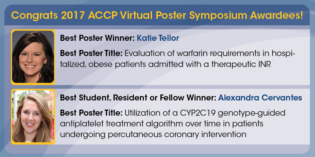Virtual Poster Symposium Best Poster Competitions ...