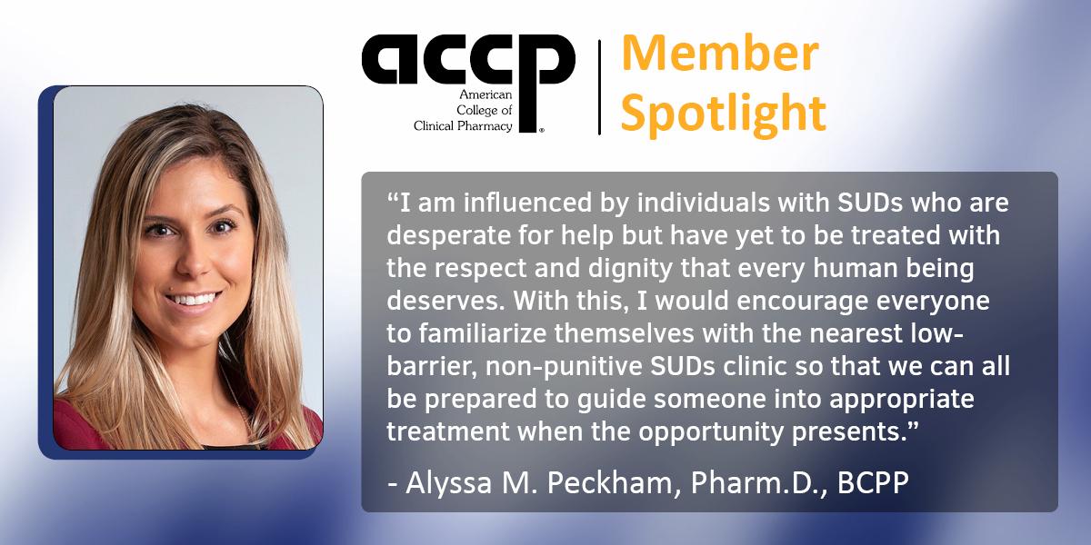 ACCP Member Spotlight: Alyssa Peckham