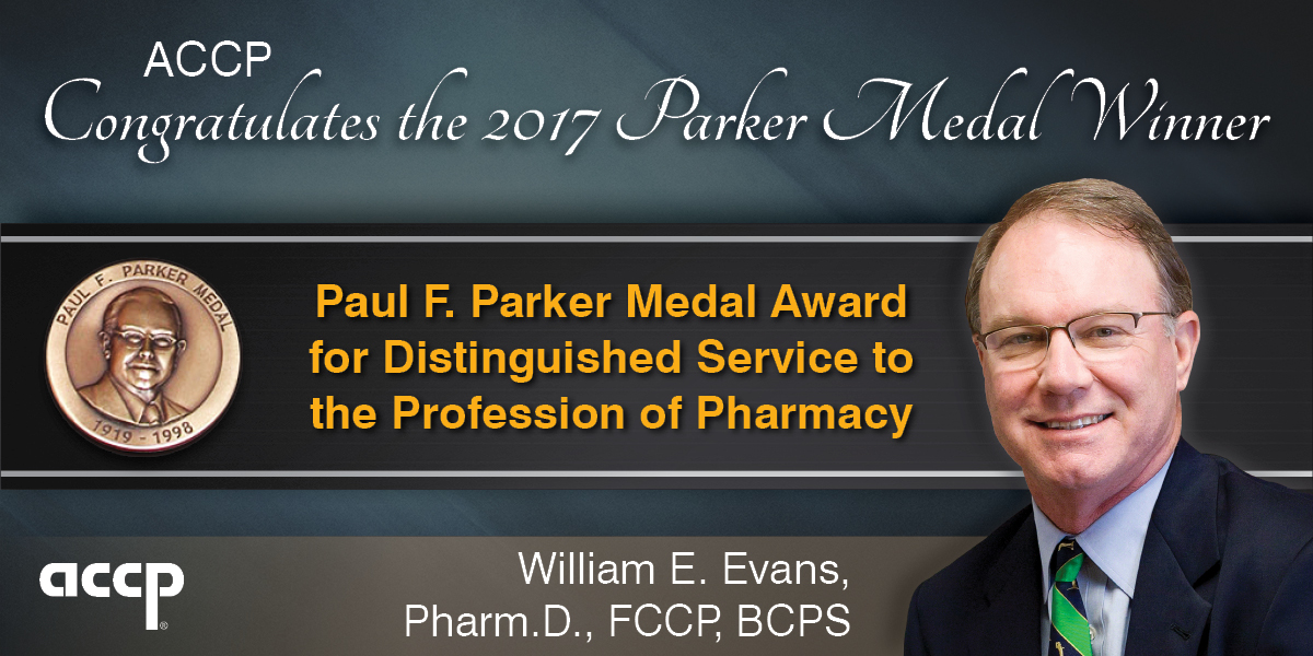 Evans Selected as 2017 Paul F. Parker Medal Recipi...