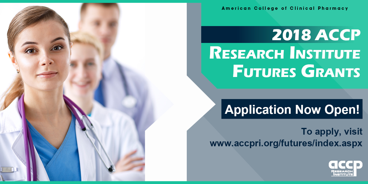 Research Grants Available from ACCP Research Insti...