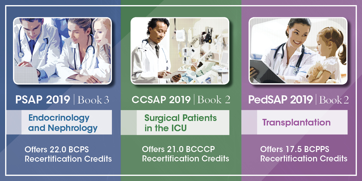 New Releases from ACCP's Self-Assessment Programs