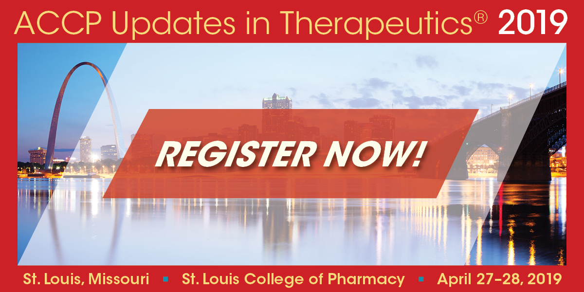 Early Registration Rates for Updates in Therapeutics® 2019 End March 29
