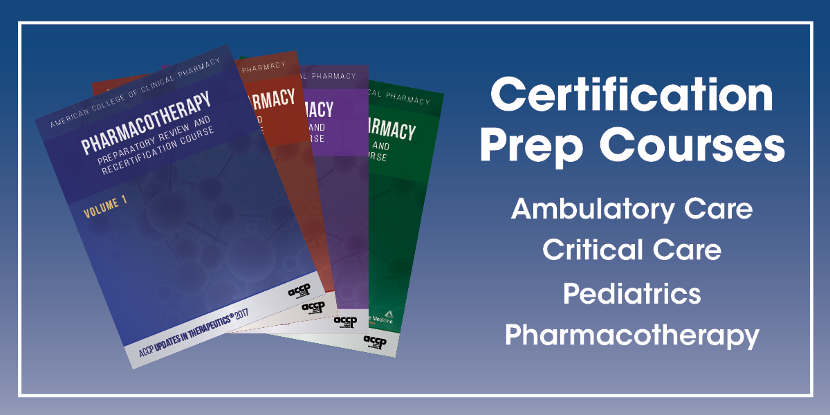 Prepare for the Ambulatory Care Pharmacy, Critical...