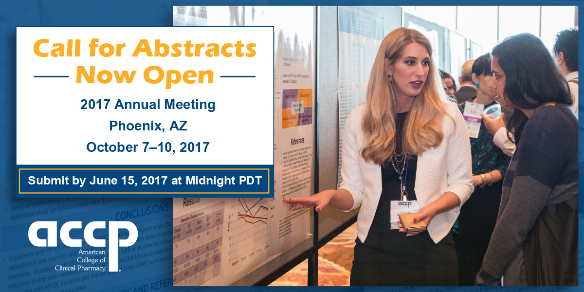 2017 ACCP Annual Meeting Call for Abstracts