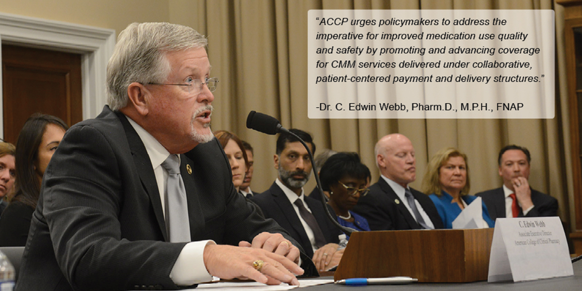 ACCP Testifies Before House Committee on Appropria...