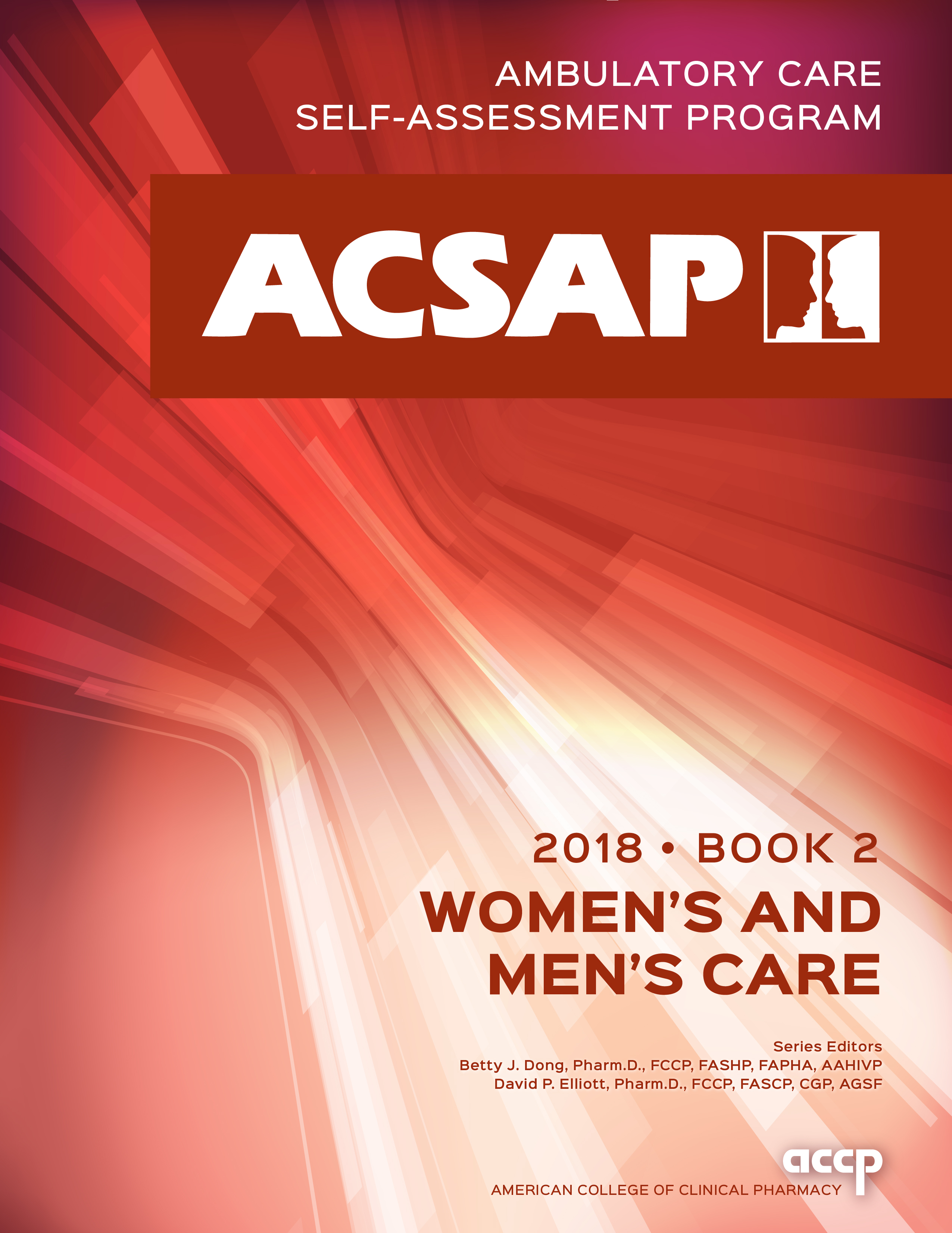 Acsap 2018 Book 2 Womens And Mens Care