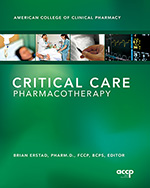 Critical Care Pharmacotherapy
