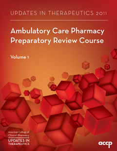 2010 Oncology Pharmacy Preparatory Review Course