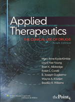 Applied Therapeutics: The Clinical Use of Drugs, Ninth Edition
