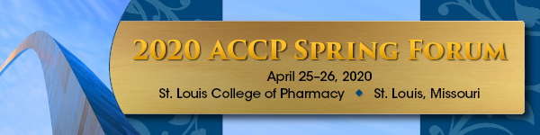 The 2020 ACCP Spring Forum, to be held April 25–26 at the St. Louis College of Pharmacy in St. Louis, Missouri, will offer four meetings in one.