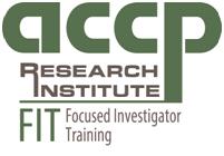 Focused Investigator Training (FIT) Program