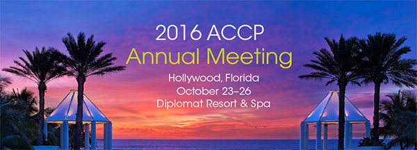 2016 ACCP Annual Meeting
