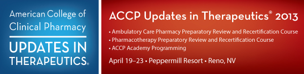 ACCP Updates in Therapeutics 2013