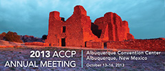 2013 ACCP Annual Meeting