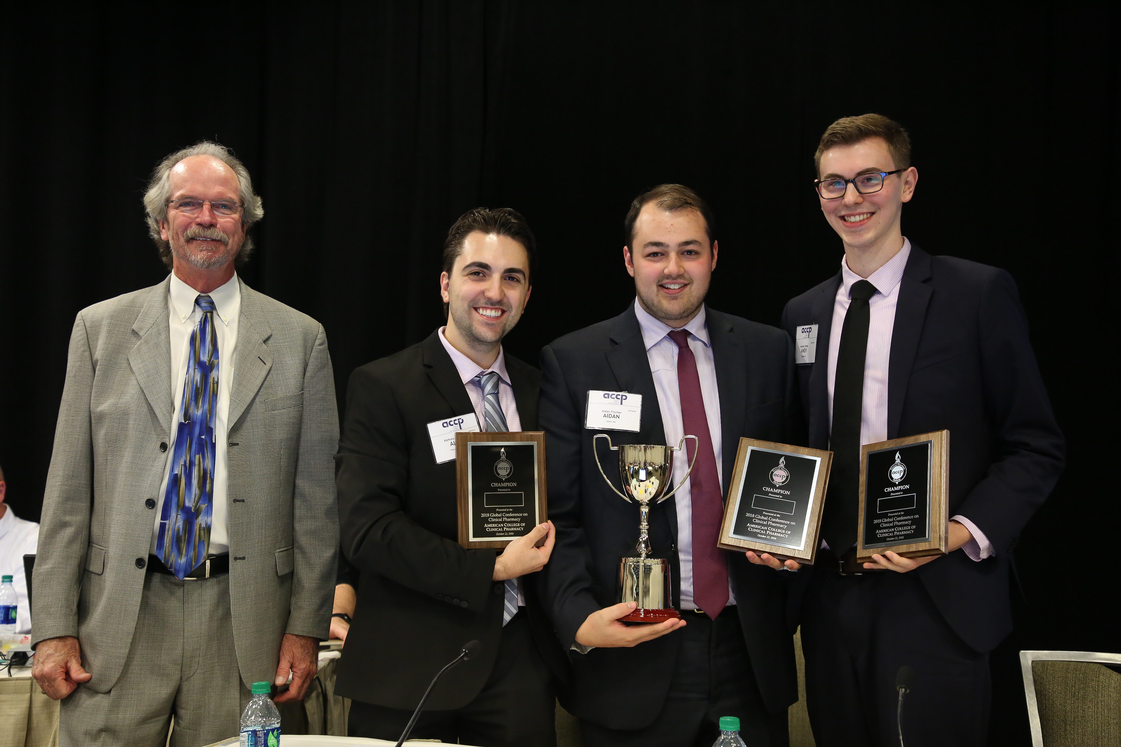 University Of Rhode Island Team Crowned 2018 Accp Clinical Pharmacy Challenge Champion